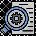 Elaborate Investigate Check Icon