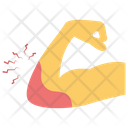 Elbow Bleeding Blood Dripping Elbow Pain Icon