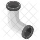 Elbow Pipe Icon
