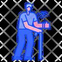 Elder Care Senior Care Icon