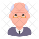 Old Man Grandfather Elderly Icon