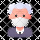 Old Man Avatar Man Icon