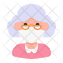 Elder Avatar Woman Icon
