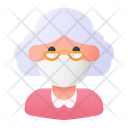 Old Woman Avatar Woman Icon