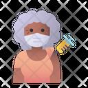 Elder Woman Vaccination Elder Woman Vaccination Icon