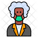 Elderly Aged Woman Icon