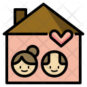 Elderly Housing Care Icon