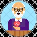 Elderly Health Issue Icon