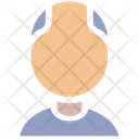 Elderly Man Avatar Icon