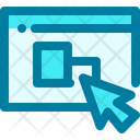Elearning Video Tutorial Online Learning Icon