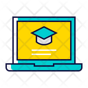 Study Elearning Online Icon