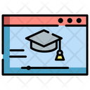 Elearning Education Knowledge Icon