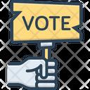 Election Ballot Poll Icon