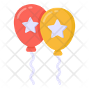 Star Balloons Election Balloons Party Balloons Icon