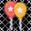 Star Balloons Election Balloons Party Balloons Icon