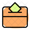 Election Box Ballot Box Polling Box Icon