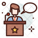 Election Campaign Election Speech Icon