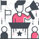 Election Campaign Audience Candidate Icon