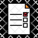Election Checklist Checking Check List Icon