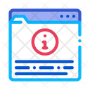 Information Folder Voting Icon