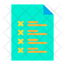 Page Checklist Candidate List Icon