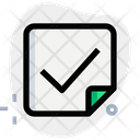 Election Paper Candidate List Ballot Paper Icon