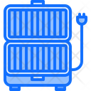 Electric Grill Barbecue Icon