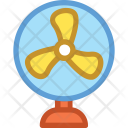 Electric Fan Pedestal Icon