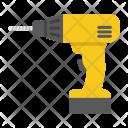 Electric Drill Screwdriver Icon