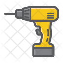 Electric Drill Screwdriver Icon