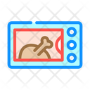 Electric Oven Color Icon