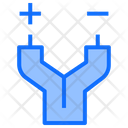 Electric Power Wire Icon