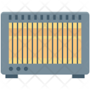 Electric Heater Electronics Icon
