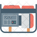 Electric Generator Electricity Icon