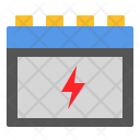 Electric Battery Electricity Icon