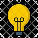 Electric Bulb Ampoule Bulb Icon