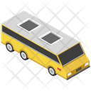 Electric Bus Trolleybus Trolley Coach Icon
