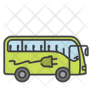 Electric Bus Bus Transport Icon