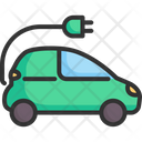 Electric Vehicle Car Icon