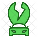 Electric Car Electric Vehicle Ecological Car Icon