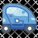 Electric Mini Car Icon
