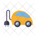 Plug-in Electric Car Icon