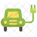 Car Ecology Save Icon