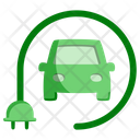Ecology Car Electric Car Icon
