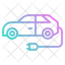 Car Electric Plug Icon