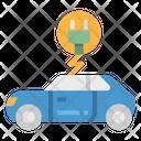 Ev Electric Car Icon