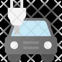 Electric Car Plug Icon