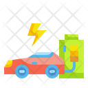 Electric Car Ecology Environment Icon