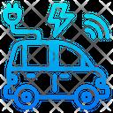 Electric Car Power Car Car Icon