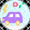 Electric Car Car Electric Energy Icon